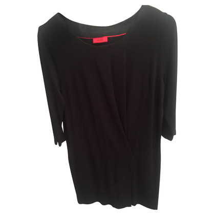 Hugo Boss Zwarte jurk van viscose