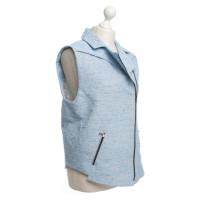 Lala Berlin Light blue biker vest
