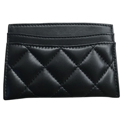 Chanel Card case with diamond quilting