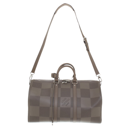 "Louis Vuitton ""Keepall 45 Bandoulière"" in Taupe"