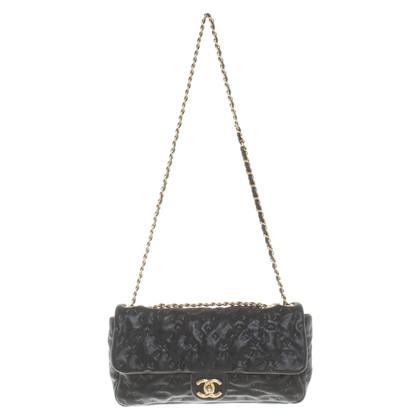"""Chanel """"Classic Flap Bag"""" gemaakt van kaviaarleer"""