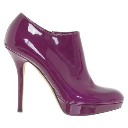 Christian Dior Plateau-Pumps patent leather