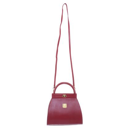 MCM Handbag in red