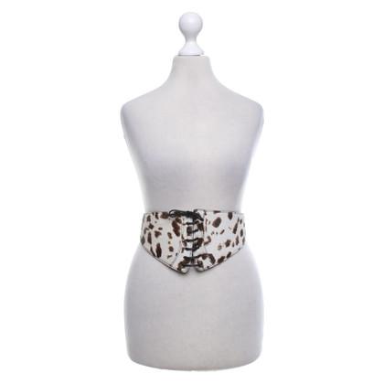 Alaïa Cintura in pelle di vacchetta