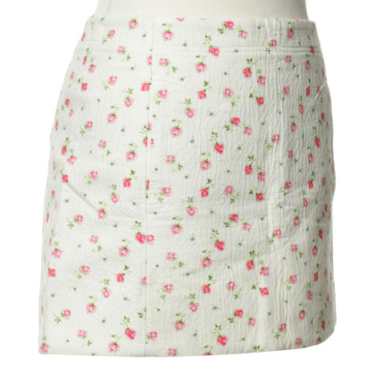 Vanessa Bruno skirt with roses print