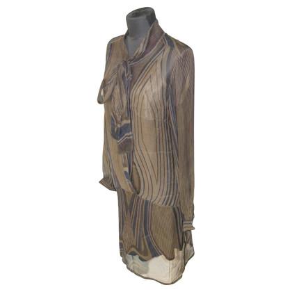 Antik Batik zijden jurk met petticoat