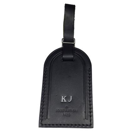 Hermès Address tag cowhide
