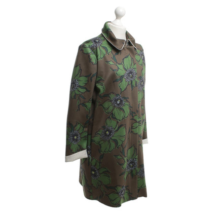 Sport Max Coat with floral pattern