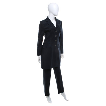 Moschino Suit with pinstripe pattern