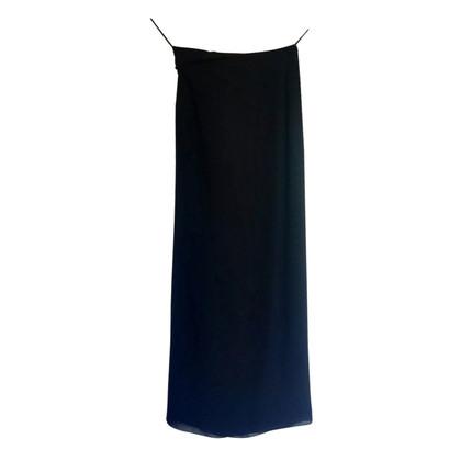 Moschino Silk draped skirt