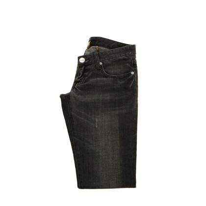 Seven 7 Graue Straight Leg Jeans
