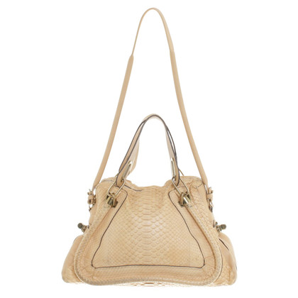 "Chloé ""Paraty Bag"" made of reptile leather"