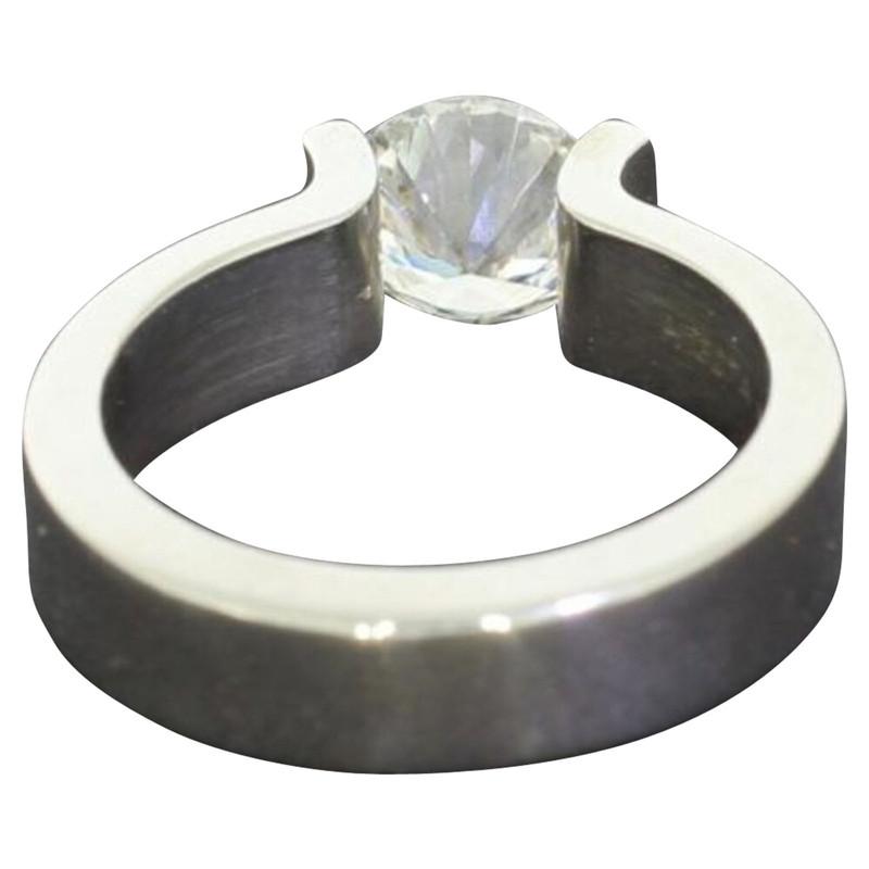Niessing Ring aus Platin Second Hand Niessing Ring aus