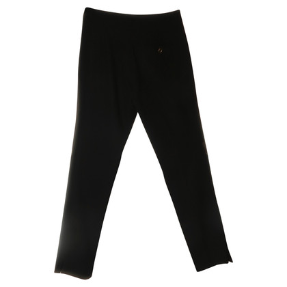 Goat trousers in black