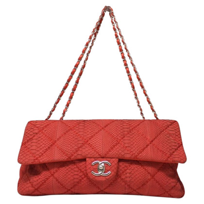 Chanel Flap Bag Python leather Limited Edition
