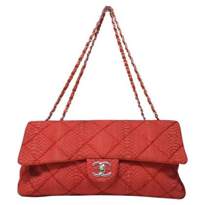 Chanel Flap Bag aus Pythonleder Limited Edition