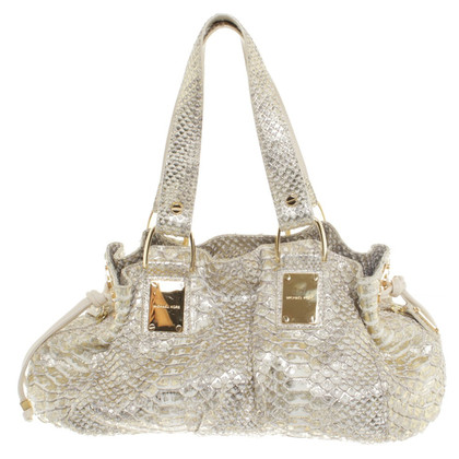 Michael Kors Python leather handbag