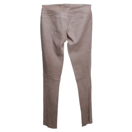 Sly 010 Pantalon en cuir beige