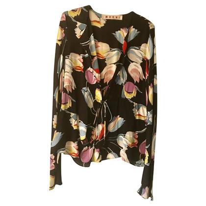 Marni Bluse mit floralem Muster