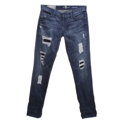 7 For All Mankind Jeans Destroyed