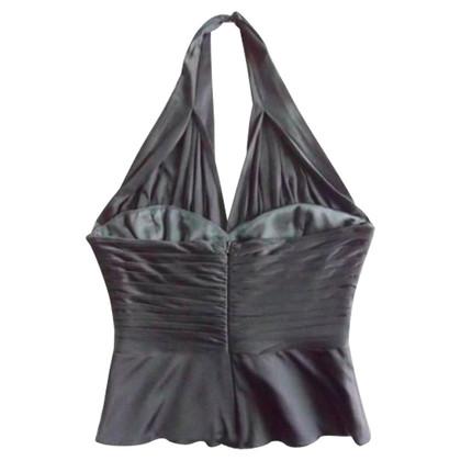Elie Tahari Silk Jersey Bustier top