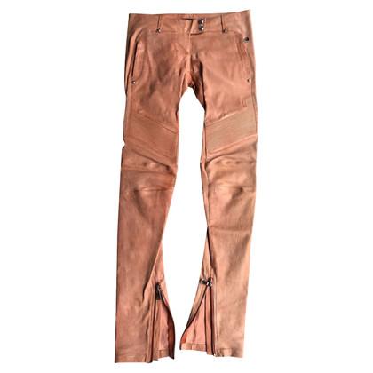 Balmain leather pants
