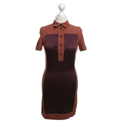 Victoria Beckham Dress in terracotta / Bordeaux