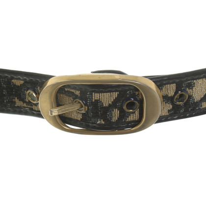 Christian Dior Belt with logo pattern