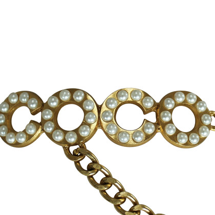Chanel Kettengürtel mit Anhänger