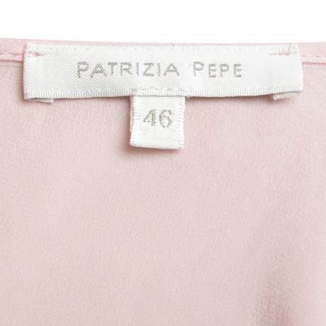 Oberteil Rosa Patrizia in Seiden Rosa Pepe Patrizia Pink Pepe wFaUO