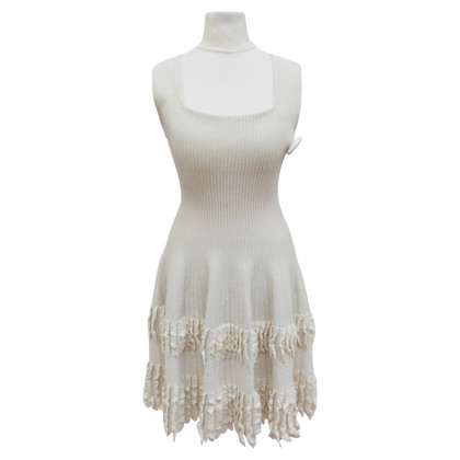 Alaïa Wool dress with lace