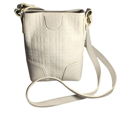 Burberry White leather Shoulder bag