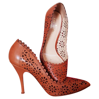 Kate Spade pumps leather with cardboard