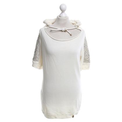 Elisabetta Franchi Sweat-shirt à la crème