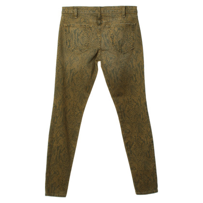Current Elliott Snake print jeans