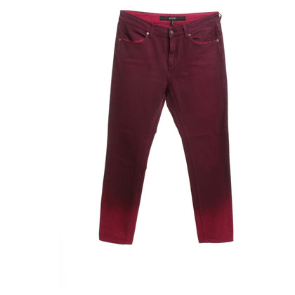 Escada Jeans in berry red