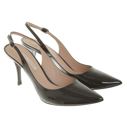 Pura Lopez Slingback pumps patent leather