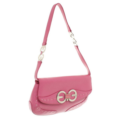 Escada clutch in pink