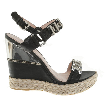 Stuart Weitzman Wedges in black