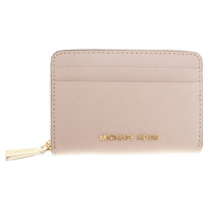 Michael Kors Card case made of saffiano leather
