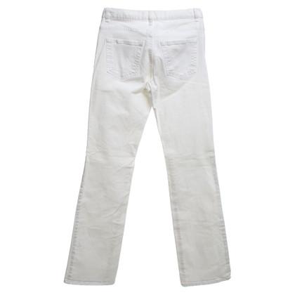 René Lezard Jeans in bianco