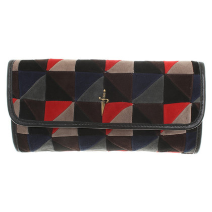 Cesare Paciotti clutch with pattern