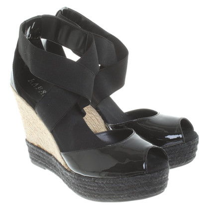 Ralph Lauren Wedges en noir