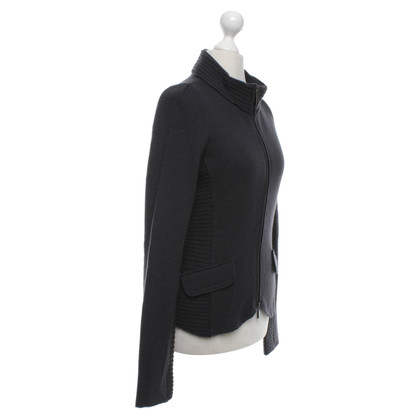 Armani Jeans Strickjacke in Anthrazit