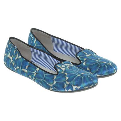 Charles Philip Shanghai Ballerina's in blauw