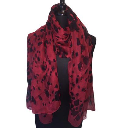Burberry Zijden sjaal met luipaardprint
