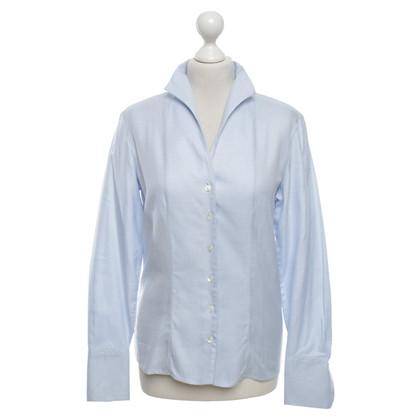 Van Laack Blouse in light blue