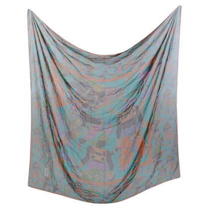 Yves Saint Laurent Multi-colored silk cloth