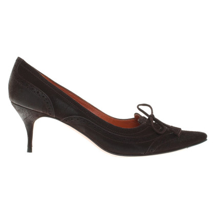 L'autre Chose Pumps aus Wildleder