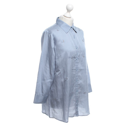 Armani Blouse in light blue